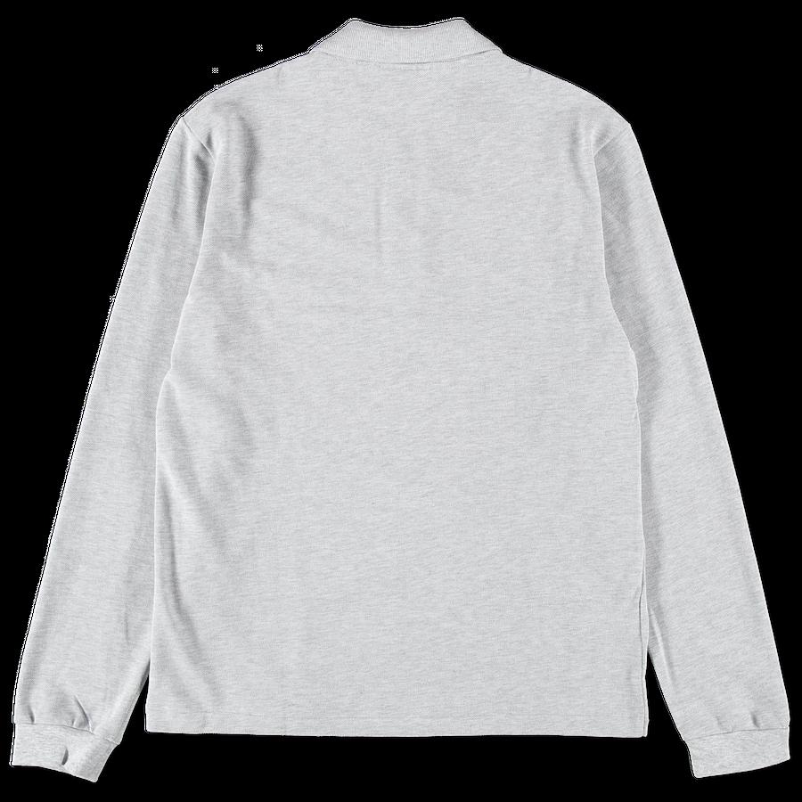 Long Sleeve Polo Piqué