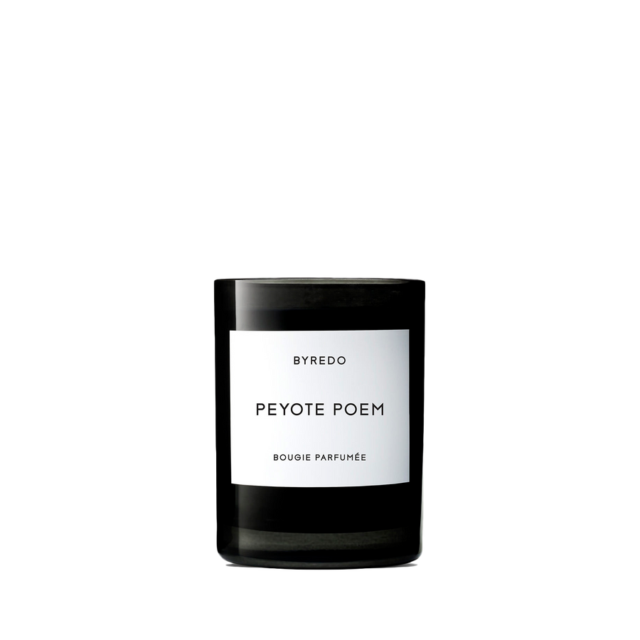 Peyote Poem Candle