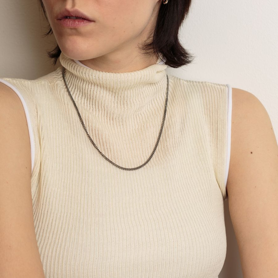 Curb Chain M Necklace 20.5inch