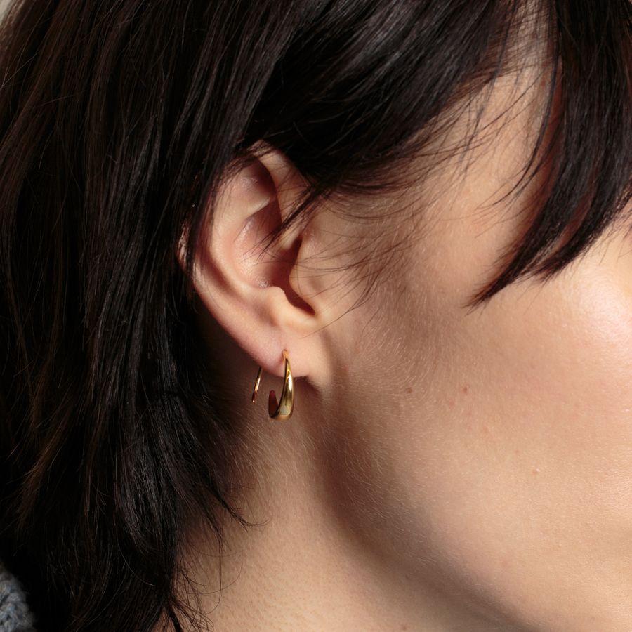 Ear Loops Goldpl. Sterling