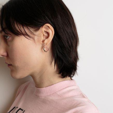 Ear Loops Sterling Silver