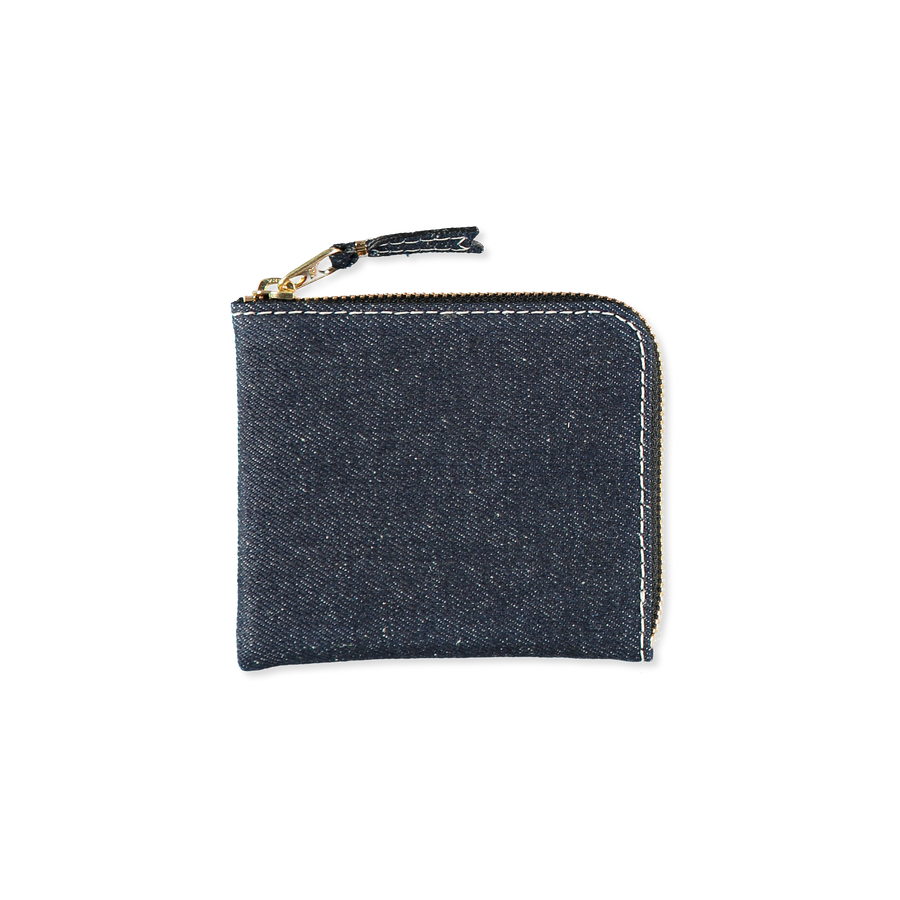Half Zip Denim Wallet