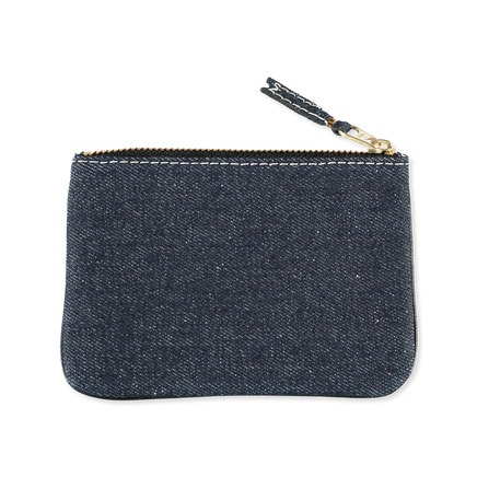Rounded Zip Denim Case