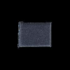 Comme des Garçons Wallet Denim Fold Wallet - Indigo