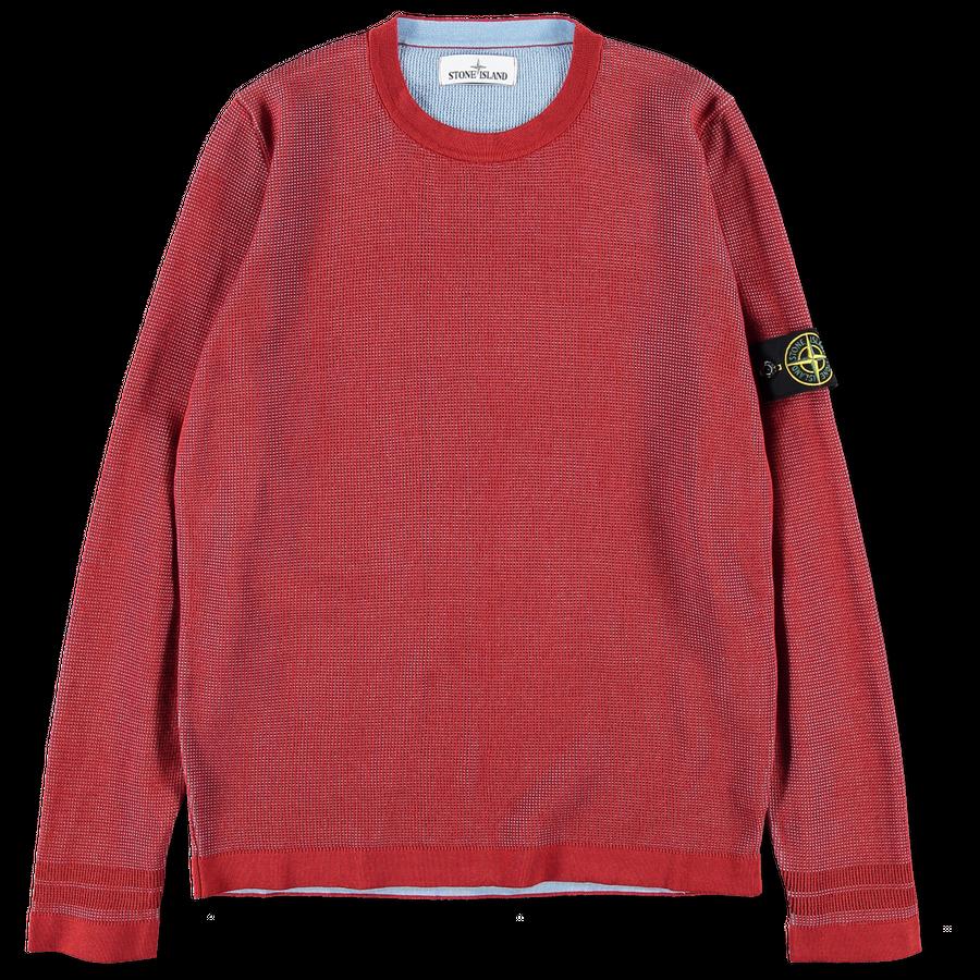 7015554A7 V0015 Double Cotton Knit Jumper
