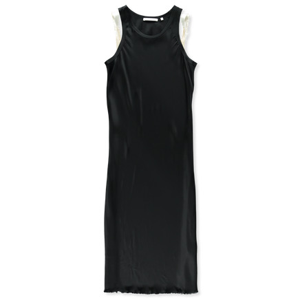 Bra Strap Tank Dress