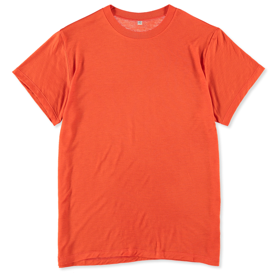Tee Shirt Bamboo Helix Red