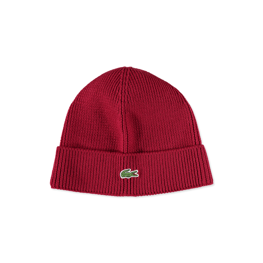 Knitted Logo Cap