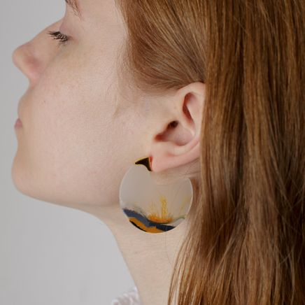 Chac Disc Earrings