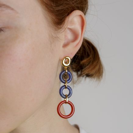 Klint Earrings Cornelian