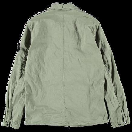 701513108 V0055 Zip Cotton Nylon Overshirt