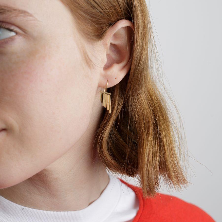 Little Rain Earrings 18k Gold