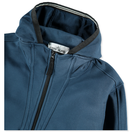 01560551 V0028 Zip Neck Hooded Sweatshirt