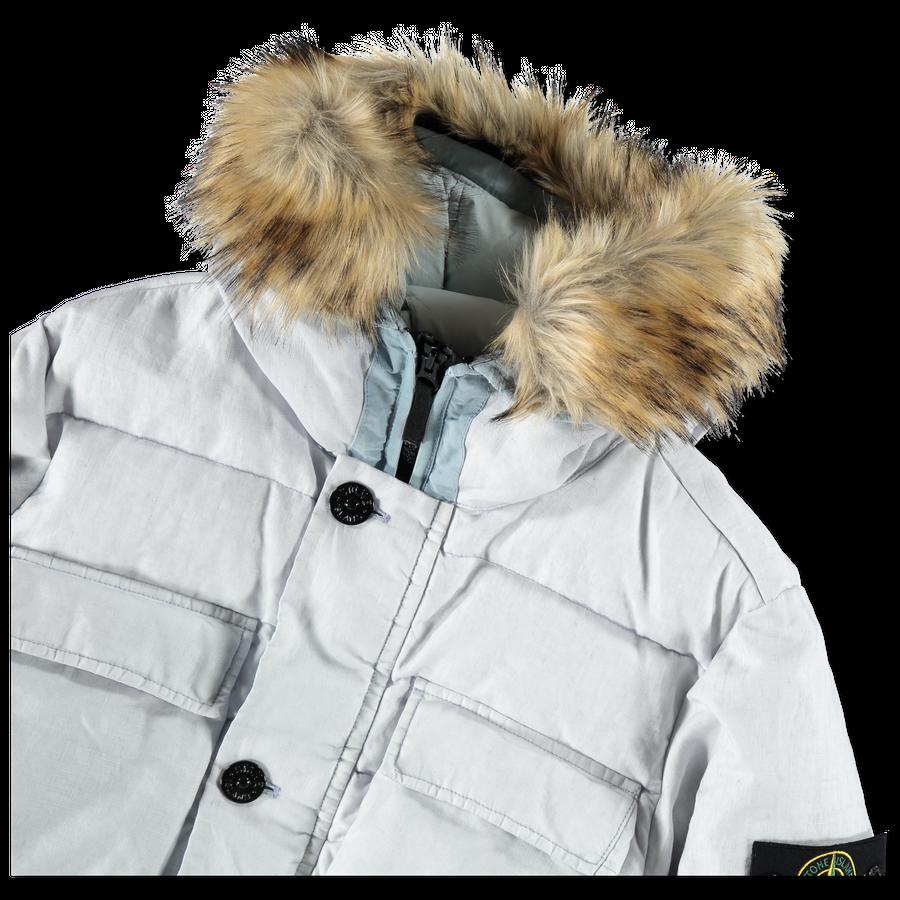691542833 V0003 GD Linen Down Jacket