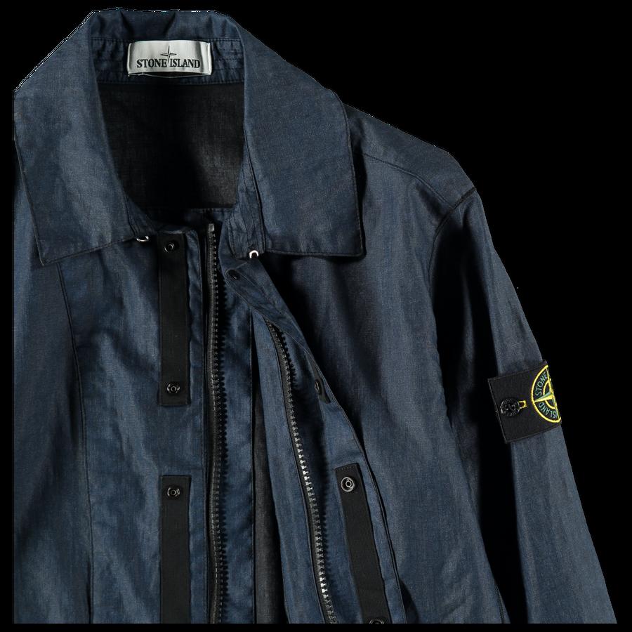 701543933 V1020 Linen Resin-TC GD Car Coat