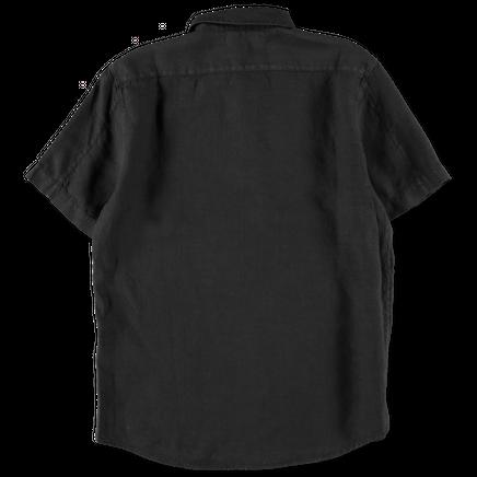 701511401 V0029 S/S Linen Popover Shirt