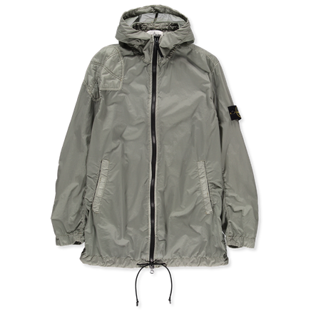 701545031 V0055 Lamy Velour Hooded Parka