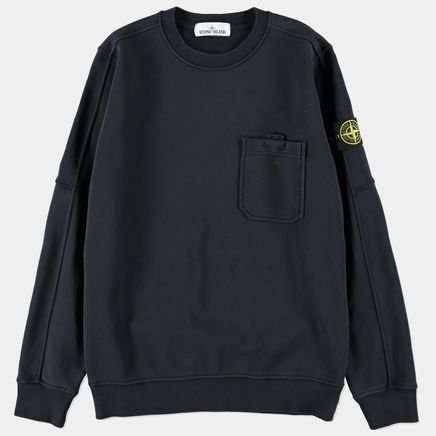 701560651 V0020 Pocket CN Fleece Sweatshirt