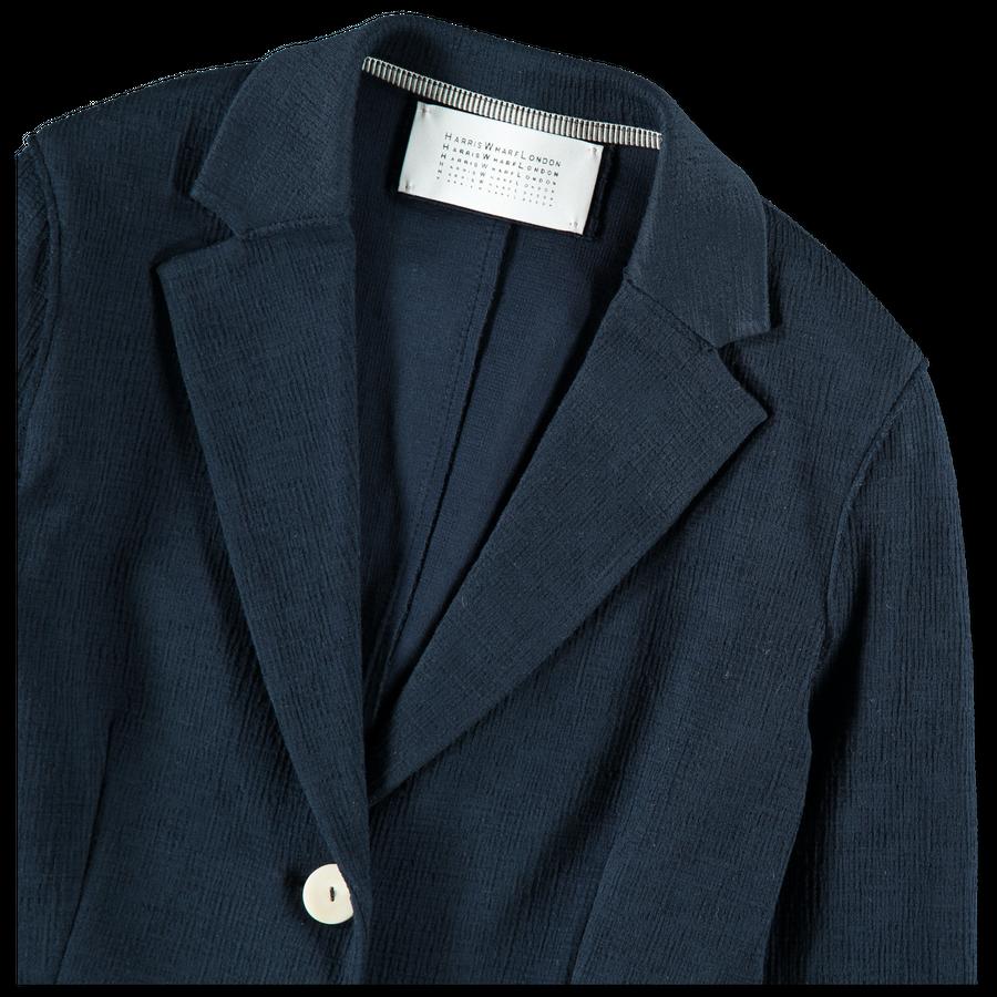 Crinkled Canvas Jacket