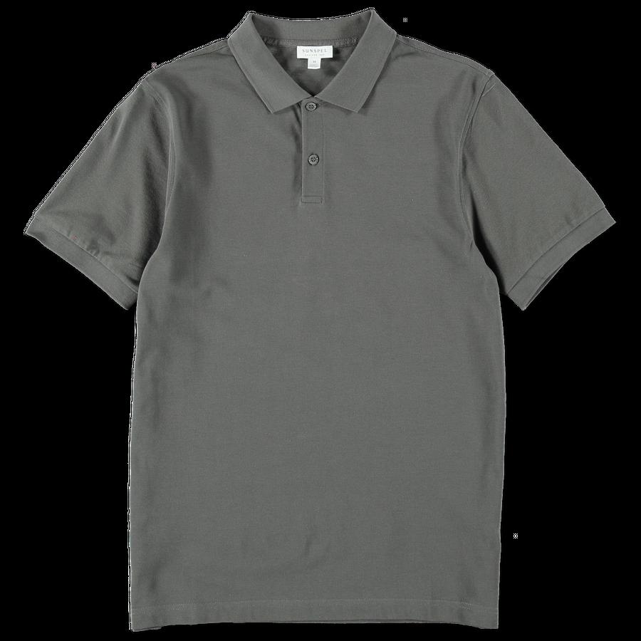 Short Sleeve Pique Polo