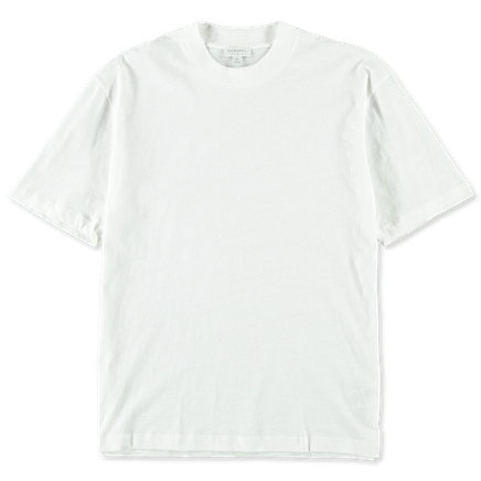 S/S slub cotton t-shirt
