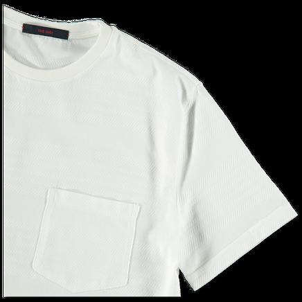 Structure Stripe T-Shirt
