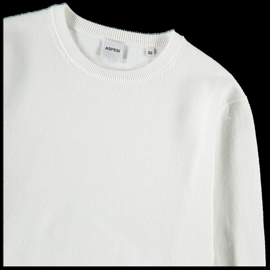 Pique Cotton Sweater