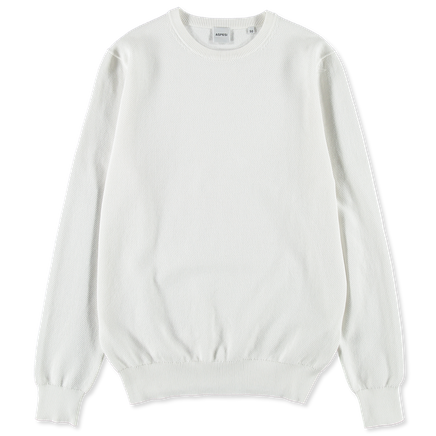 Pique Cotton Sweater