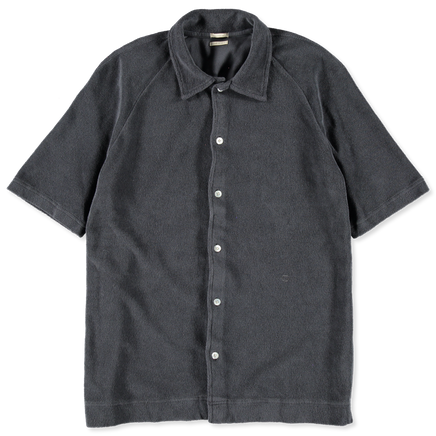 Terry Polo S/S Cardigan Shirt