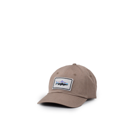 Trout Patch Canvas Cap