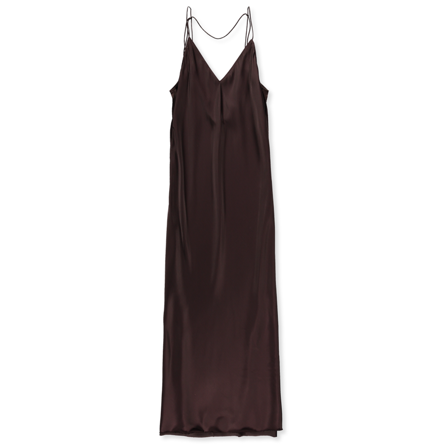 Raw Detail Slip Dress