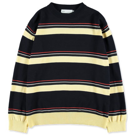 Cotton Knit Crewneck Sweater