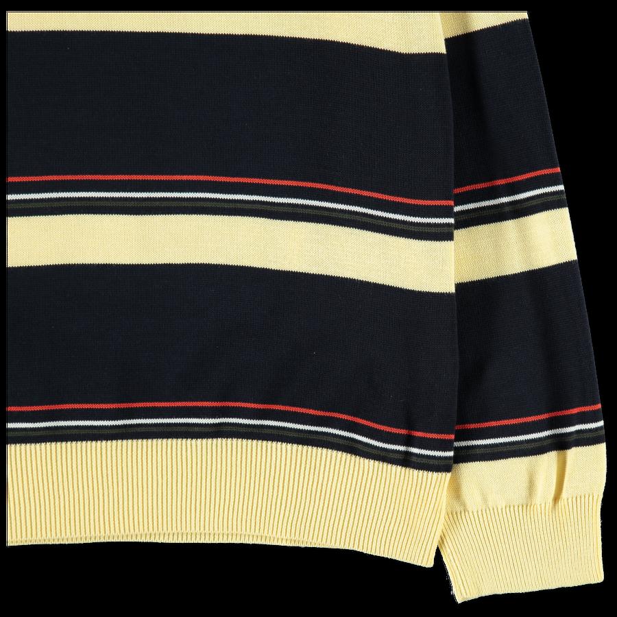 Cotton Knit Crewneck Sweater