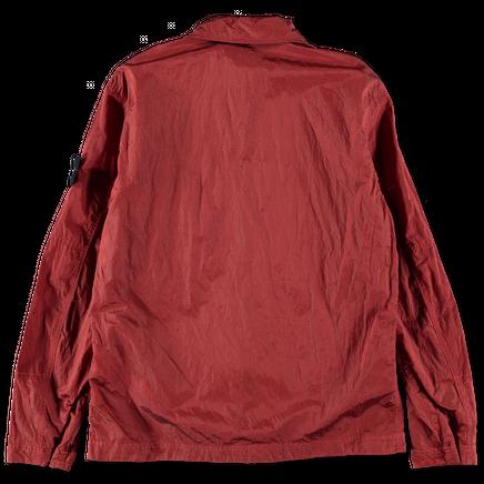 701511117 V0015 Nylon Metal Ripstop Overshirt
