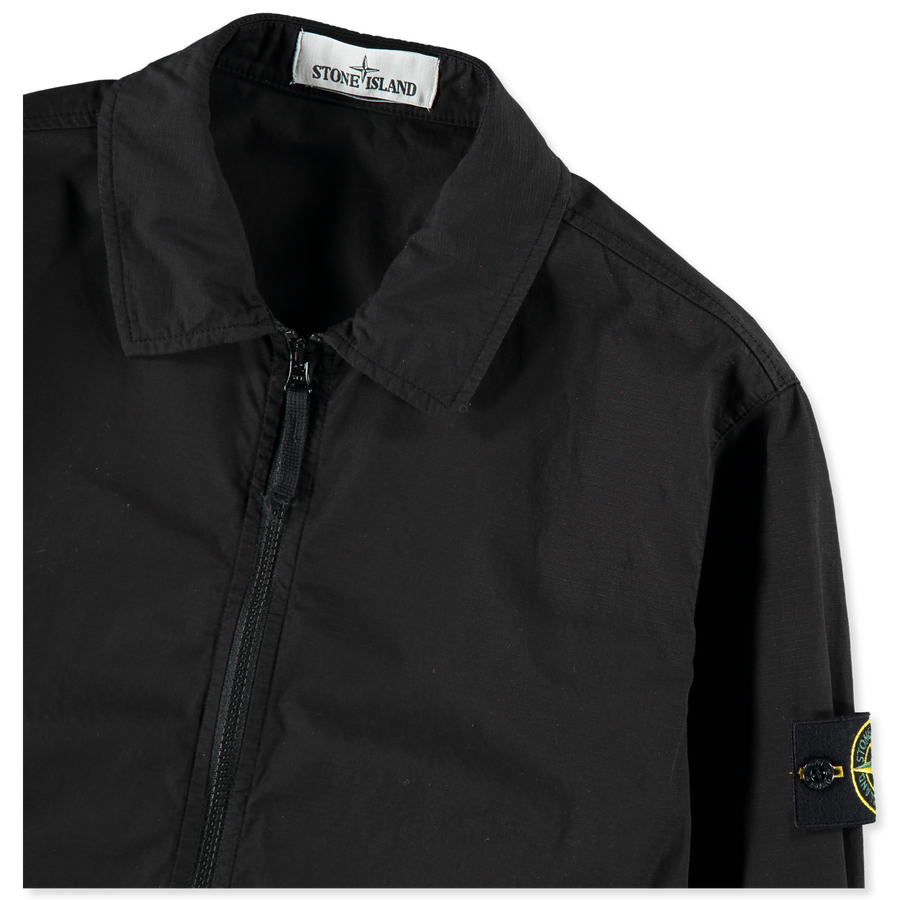 701512307 V0029 Zip Cotton Ripstop Overshirt