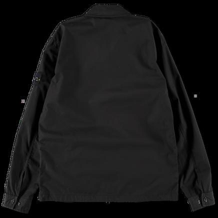 701512307 V0029 Zip Cotton Ripstop Overshirt