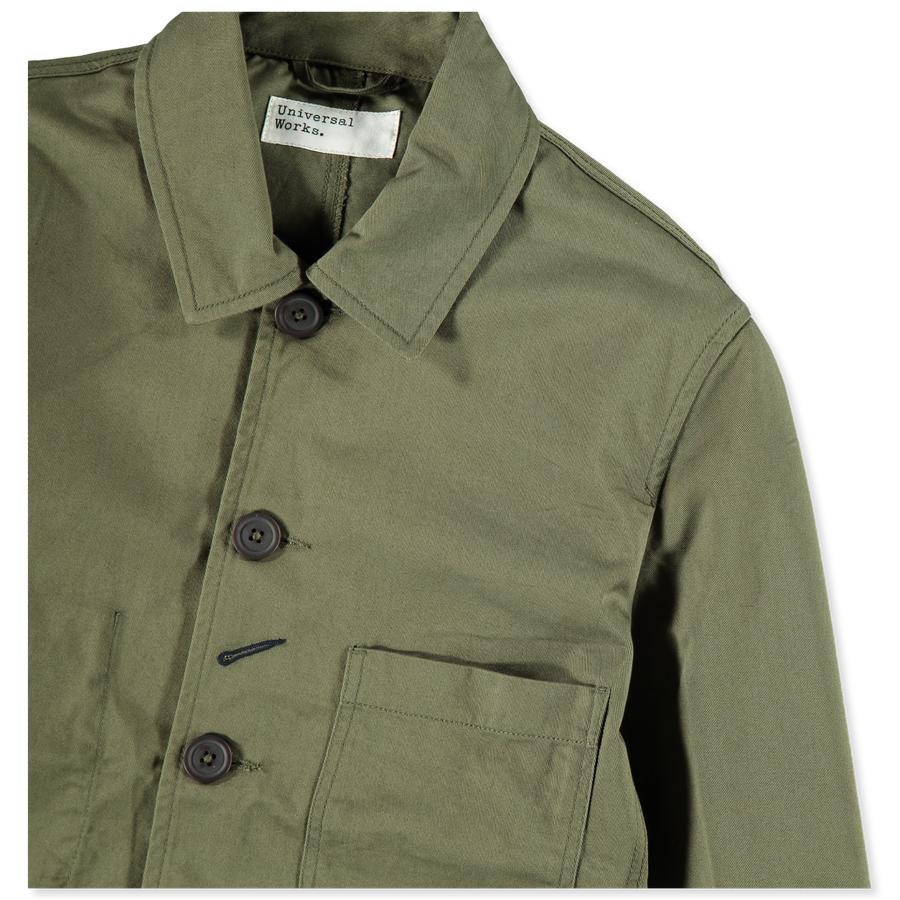 Twill Bakers Jacket