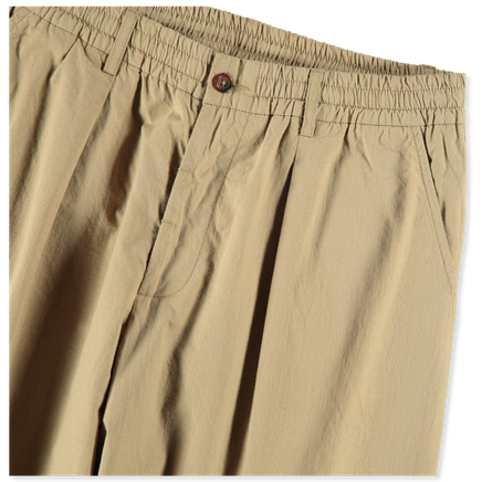 Pleated Track Pant