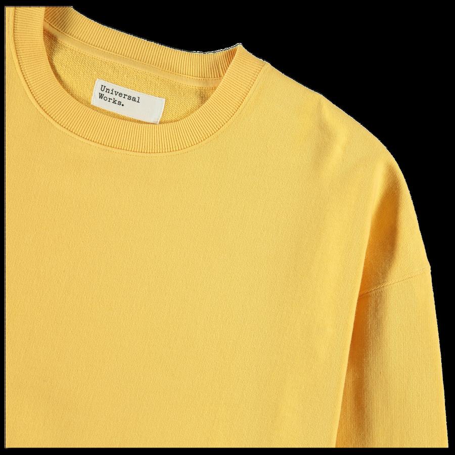 Oversized Loopback Sweater