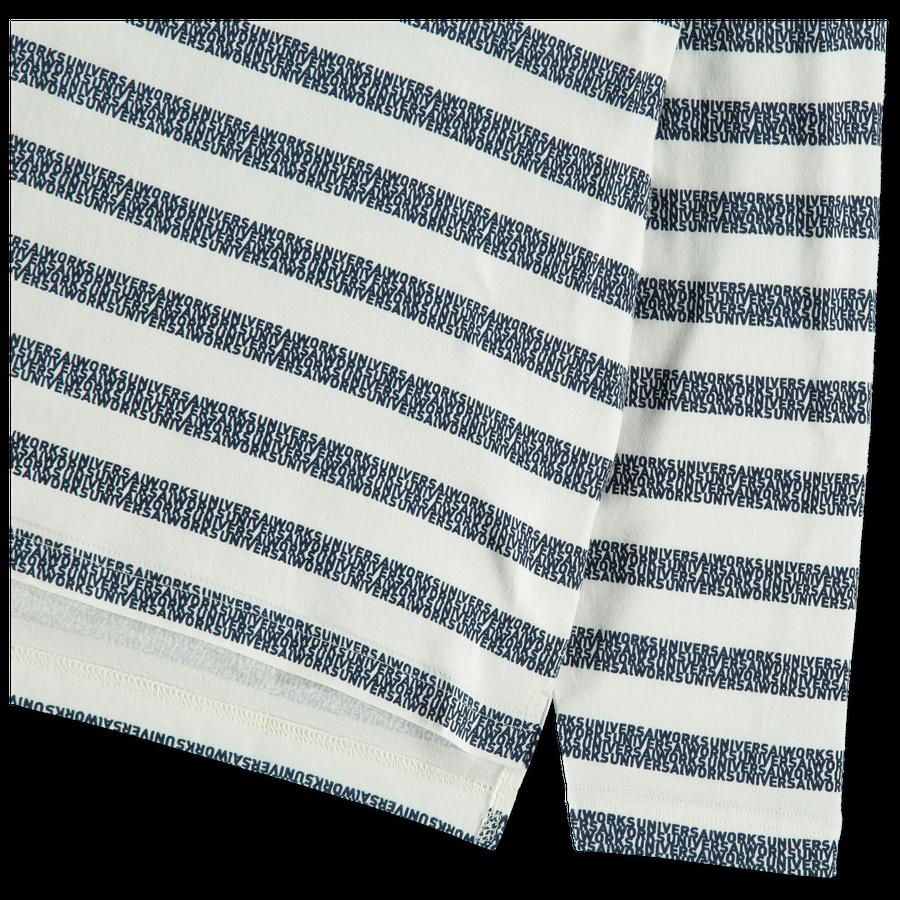 Print Stripe L/S Tee