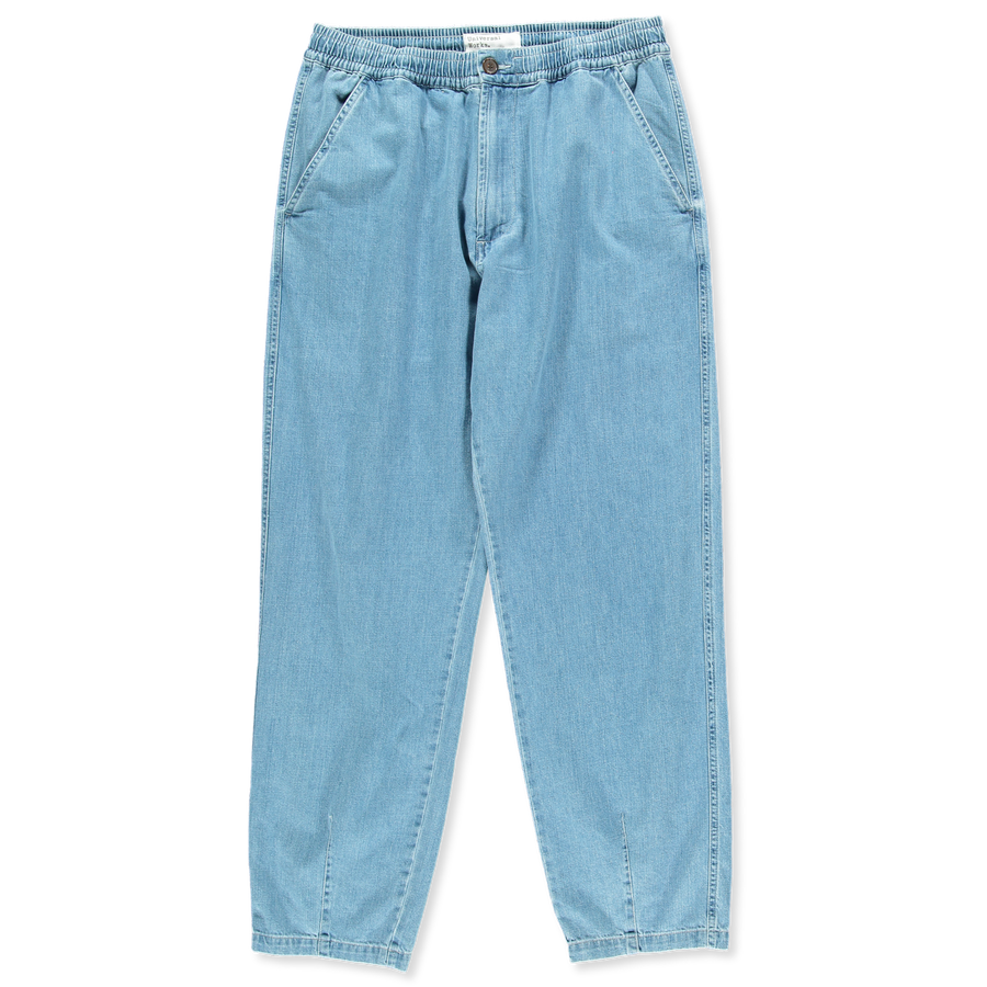 Stretch Denim Track Trouser