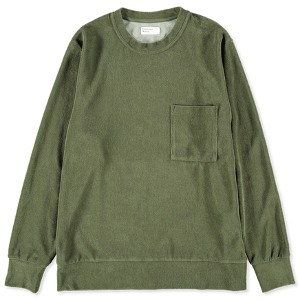 Terry Fleece Pullover