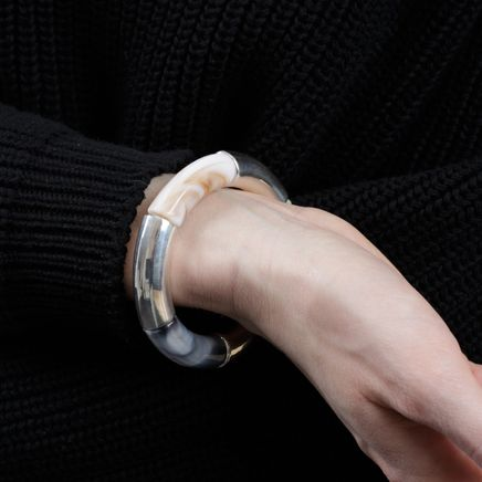Wham Bracelet Silver Beads