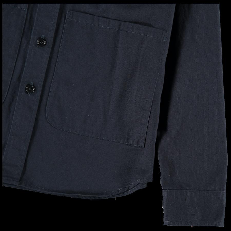 Twill Cotton Overshirt