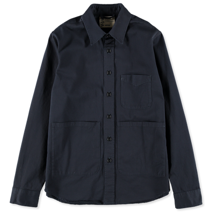 Twill Cotton Overshirt