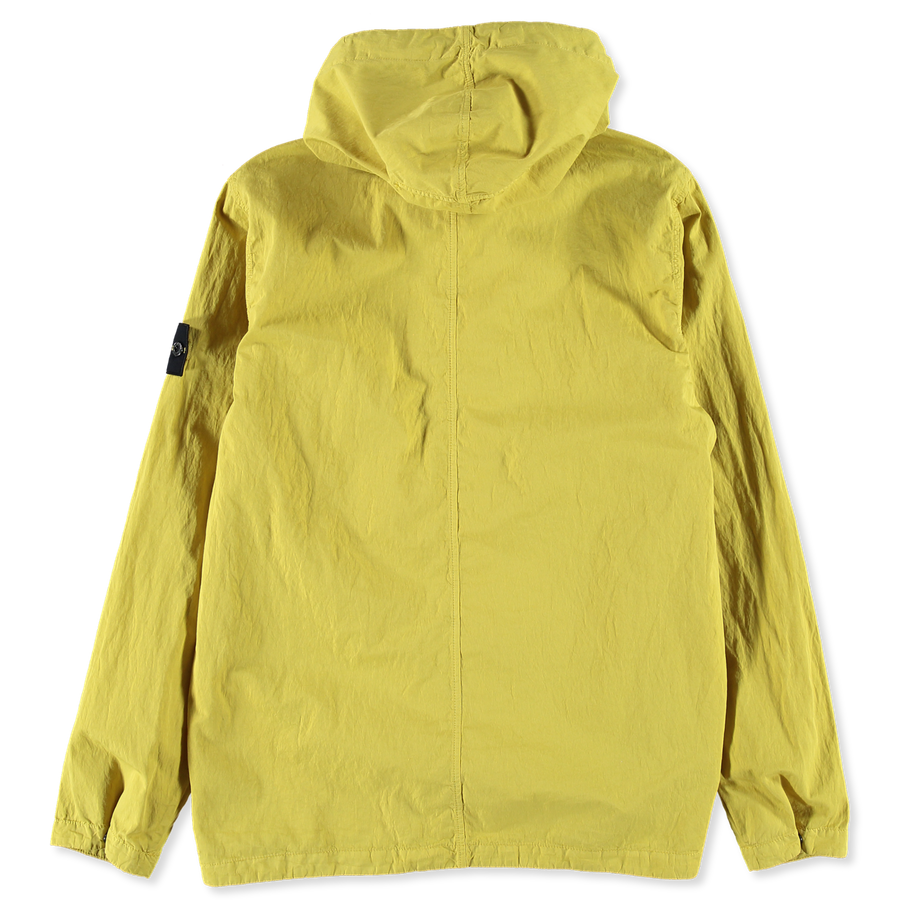 701510608 V0038 Hooded Cotton Nylon Overshirt