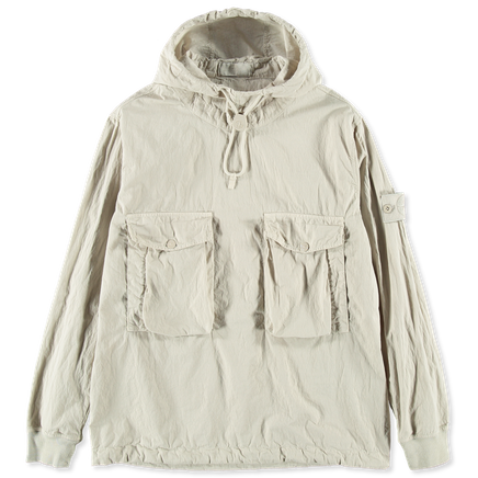 7015639F2 V0090 Ghost Cotton Nylon Anorak