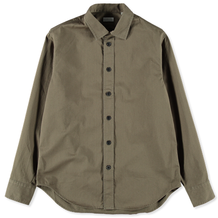 Twill Camp Collar Shirt