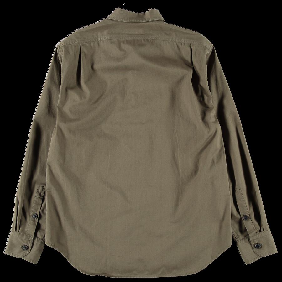 Twill Camp Collar Shirt