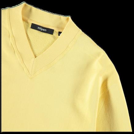 LS V Rib Sweater